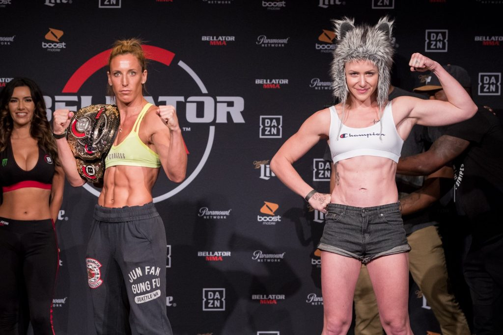 Bellator 224, Julia Budd, Olga Rubin