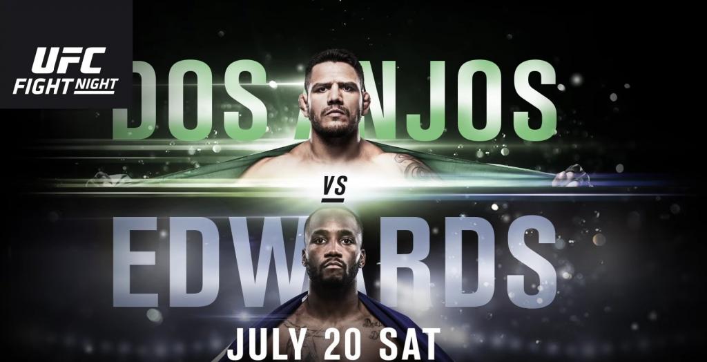 UFC San Antonio weigh-in results - Dos Anjos vs. Edwards