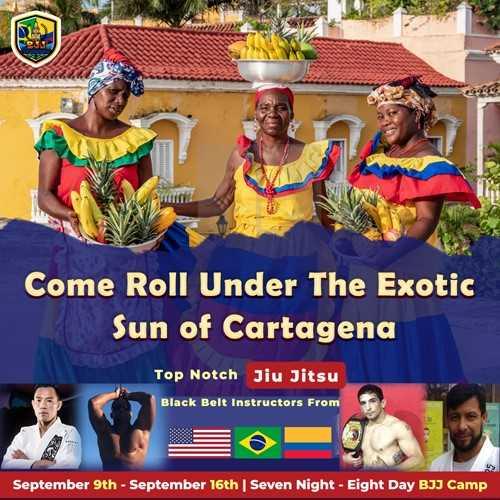 BJJ Camp, Cartagena, Jiu Jitsu, Jiu Jitsu Camp