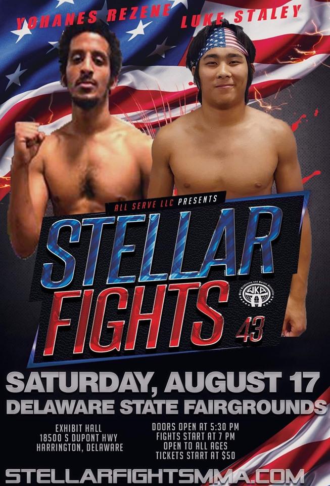 Luke Staley, Stellar Fights 43