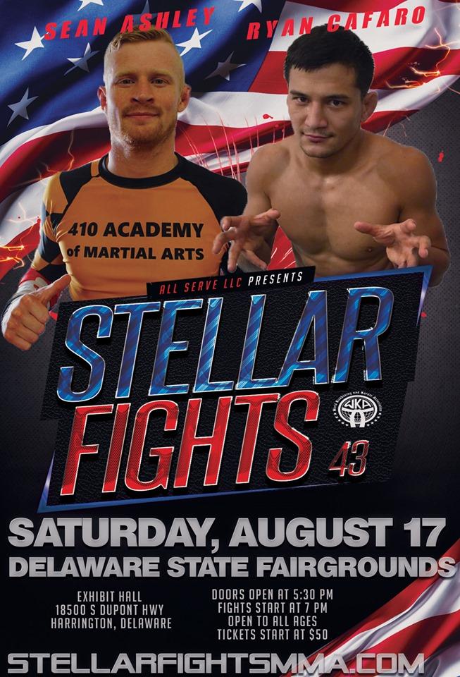 Ryan Kim Cafaro, Stellar Fights 43