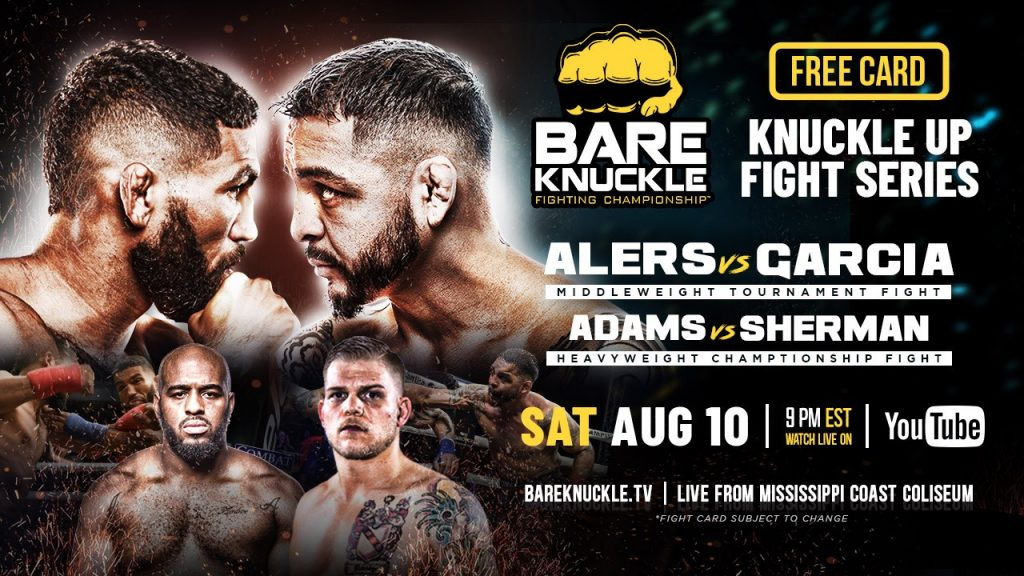 BKFC 7 results - Alers vs. Garcia - Knuckle Up Fight Series