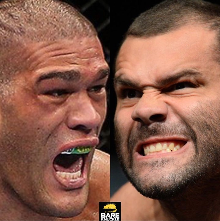 Bare Knuckle FC 8 to be headlined by Bigfoot Silva vs. Gabriel Gonzaga