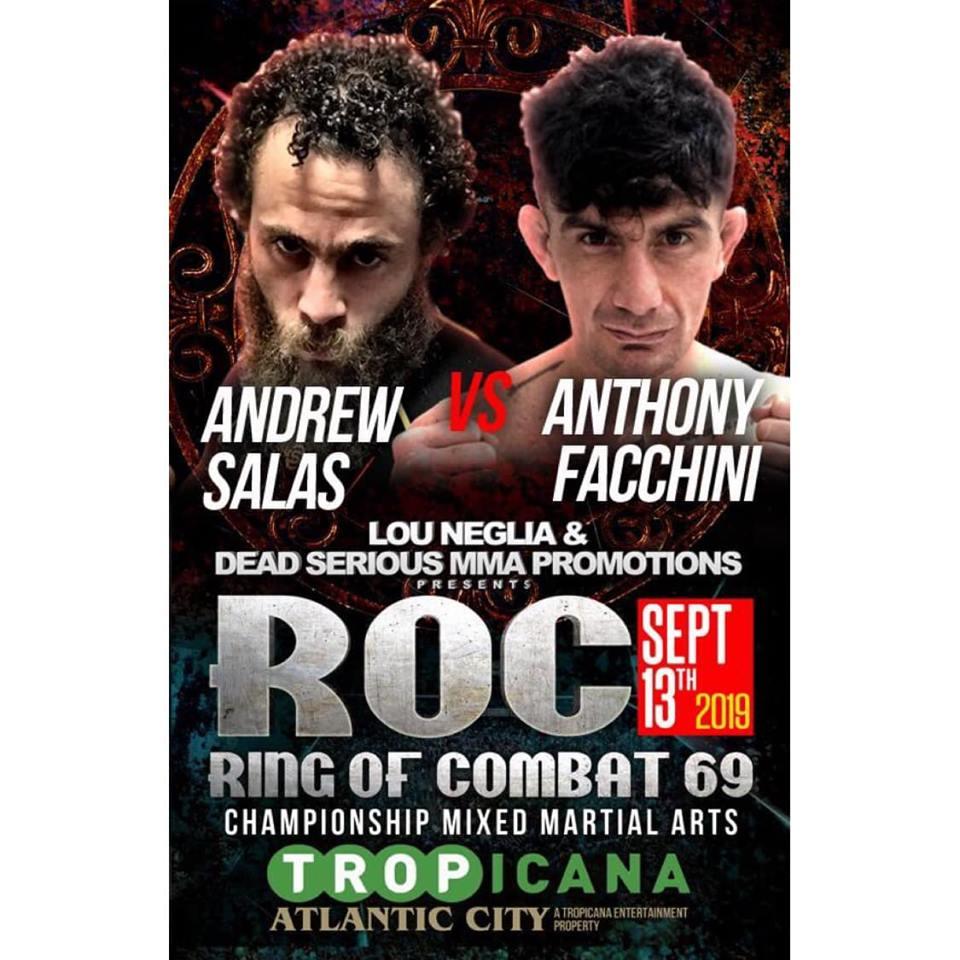 Ring of Combat 69, Andrew Salas, Anthony Facchini