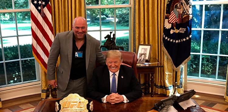 President Trump, Dana White