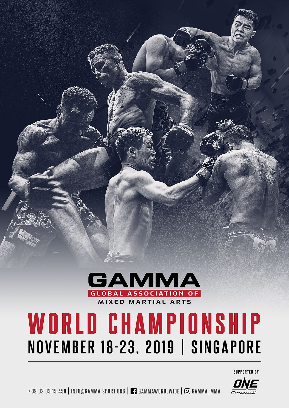 ONE Championship and GAMMA to hold GAMMA World Championships in Singapore