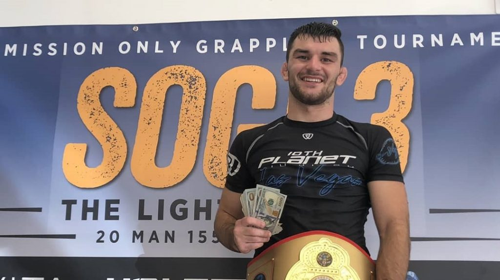 Keith Krikorian dominates at SOGI 3 lightweight tournament