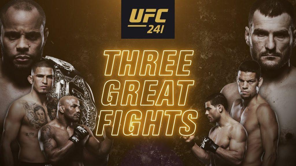 UFC 241 results - Cormier vs. Miocic 2