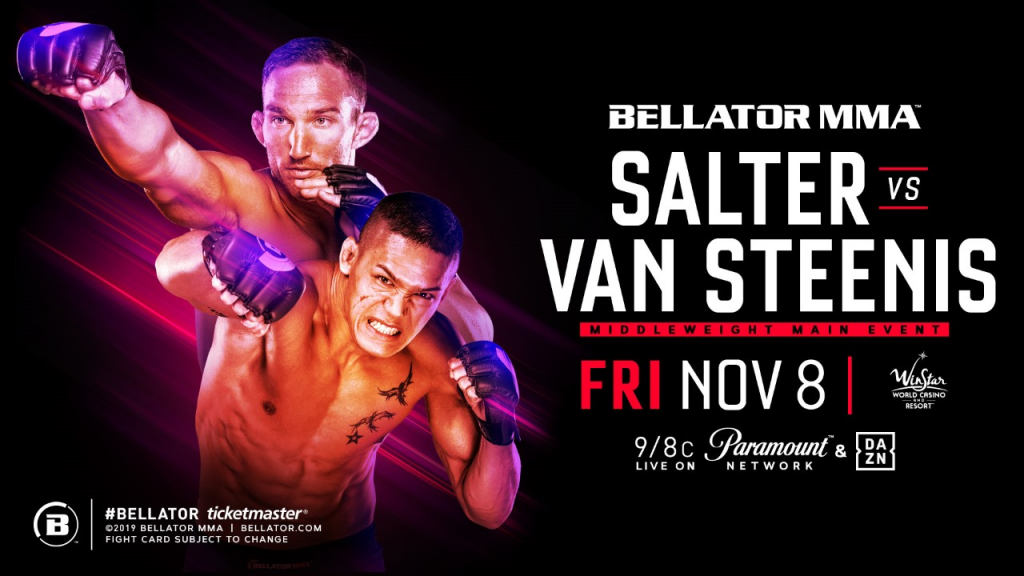 Bellator 233 headlined by middleweight John Salter and Costello van Steenis