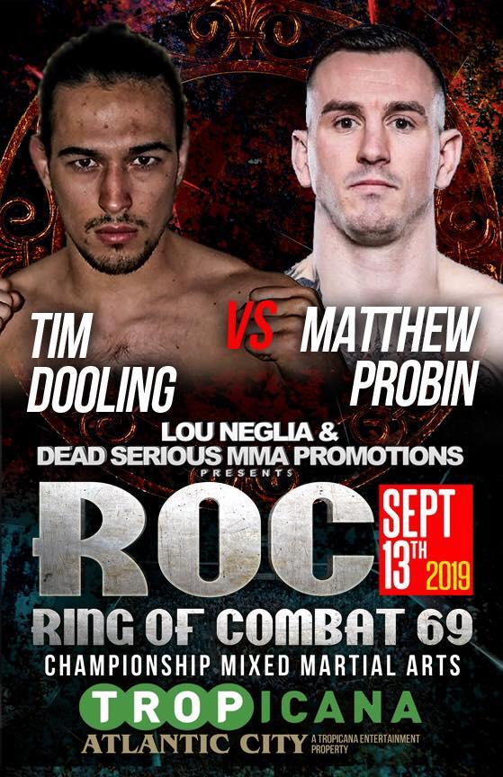 Ring of Combat 69, ROC 69, Tim Dooling, Matthew Probin