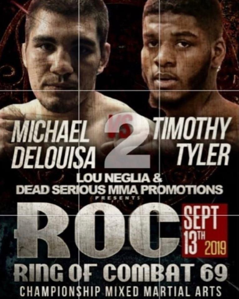 Michael DeLouisa, Ring of Combat 69, ROC 69