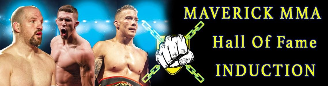 Maverick MMA names Hamill, Heckman, and Trizano to inaugural class of Hall of Fame