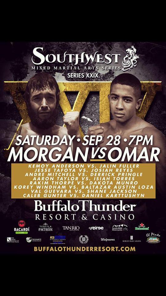 Southwest MMA Series, Ali Omar