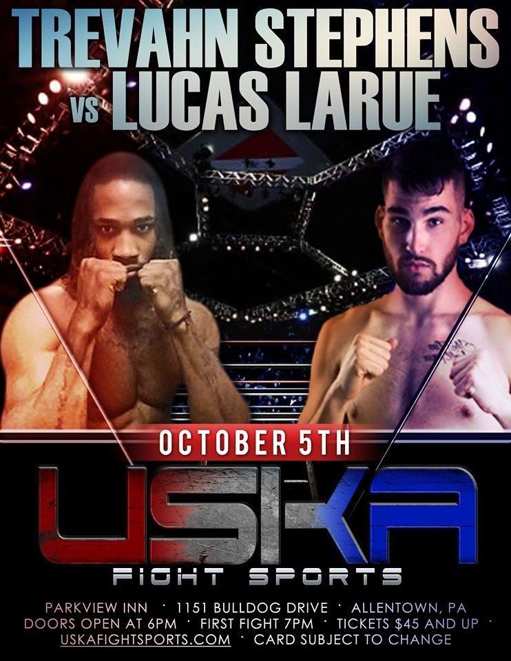 Trevahn Stephens, Lucas Larue, USKA, USKA Fight Sports