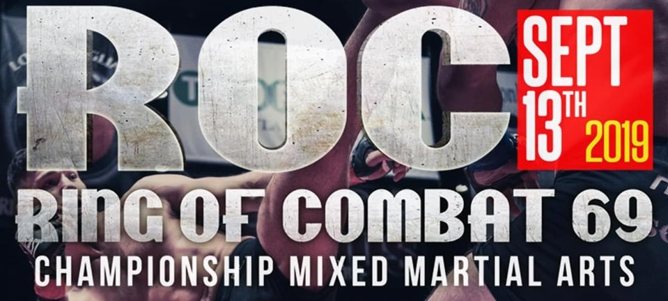 "Ring of Combat 69 - Joe ""Bodybagz"" Pyfer vs Matthew Foster live results"