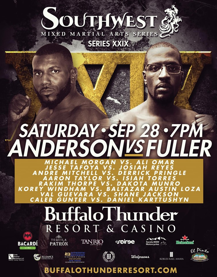 Kemoy Anderson, Southwest Mixed Martial Arts Series