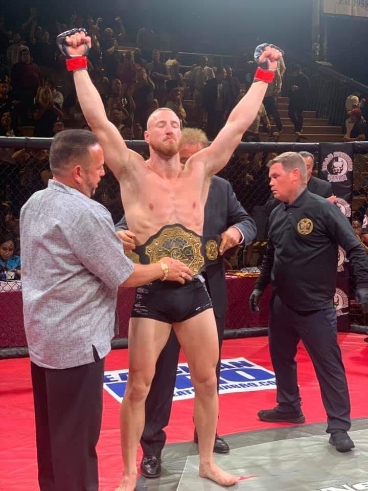 """, Bodybagz Pyfer, Joe """"Bodybagz"""" Pyfer moves to 6-0 and is the new ROC Middleweight champ"""
