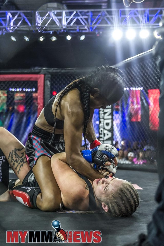 Sandy Chheng vs. Lateesha Mohl - Photo by William McKee