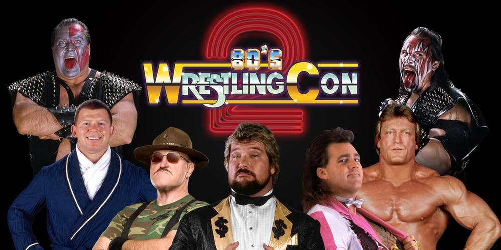 80s Wrestling Con 2 and Fan Festival heads to Freehold, New Jersey on Oct. 26