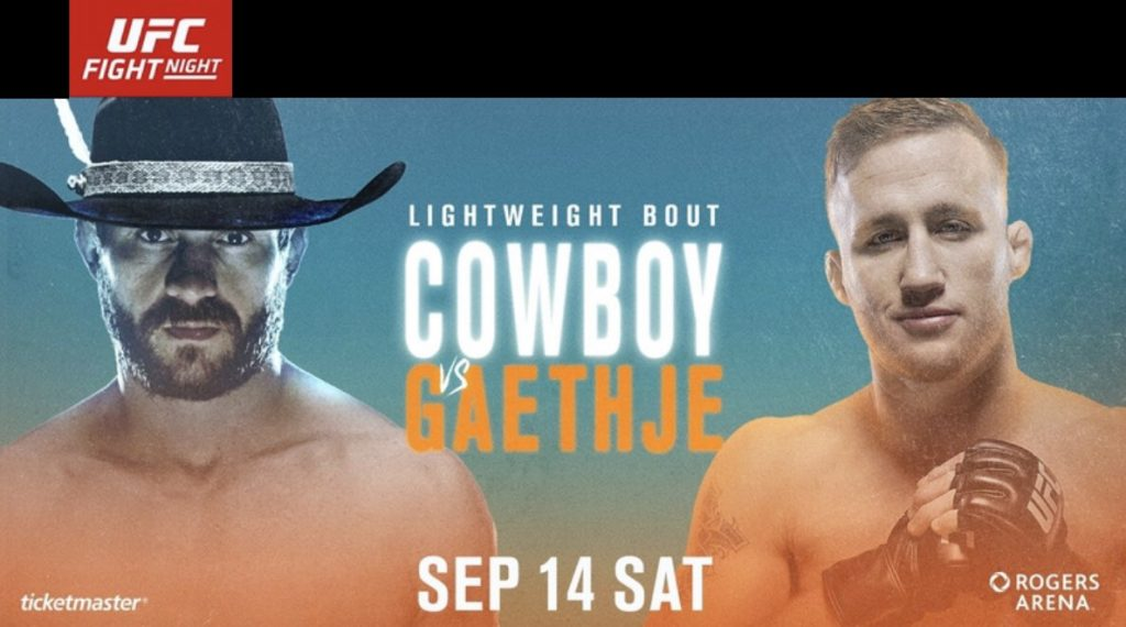 UFC Vancouver weigh-in results - Cerrone vs. Gaethje