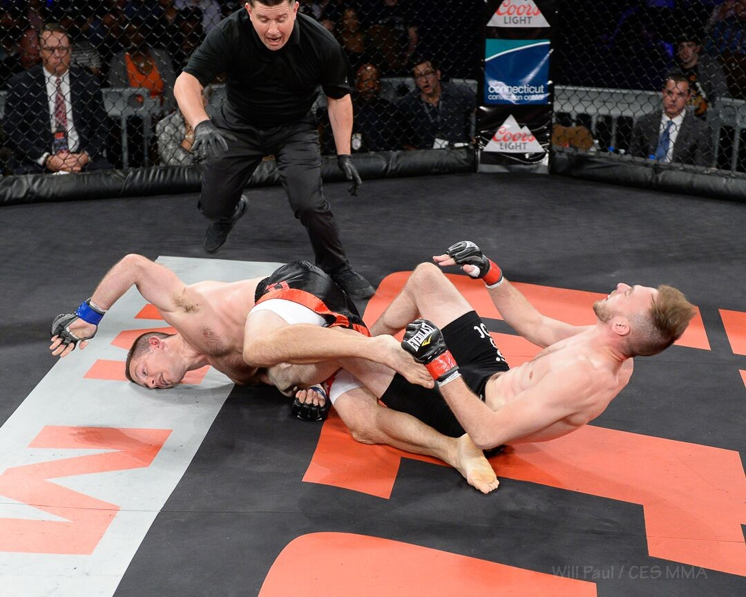 """Relentless"" Robbie Leroux - Photo by CES MMA Photographer Will Paul"