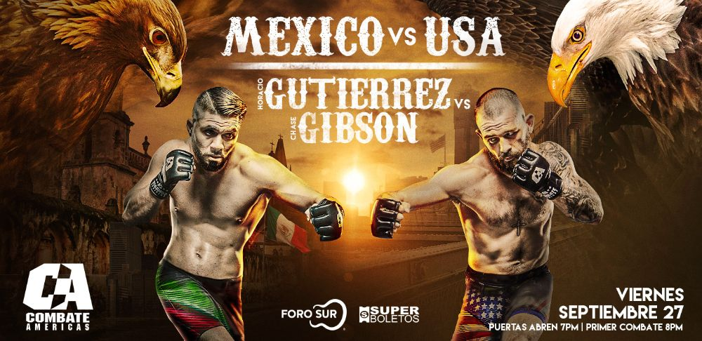 Everything You Need to Know About the Featherweight Fight Between Horacio Gutierrez and Chase Gibson