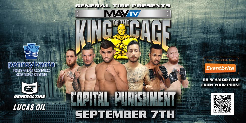 King of the Cage: Capital Punishment live results