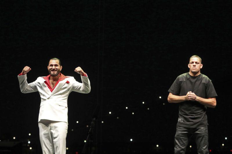 Jorge Masvidal, Nate Diaz, UFC 244