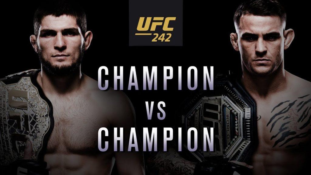 UFC 242 results - Nurmagomedov vs. Poirier for UFC lightweight title
