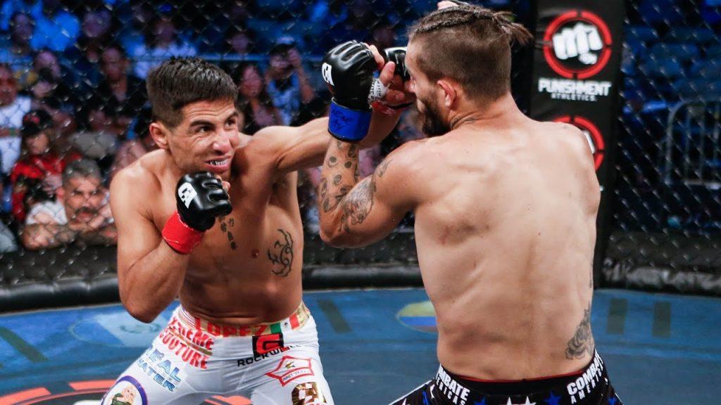 bantamweight champion, Gustavo Lopez