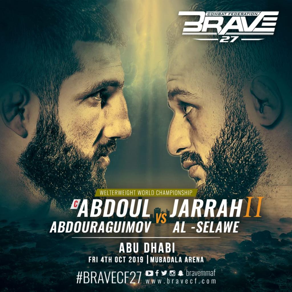 Al-Selawe - Abdouraguimov rematch takes Brave CF back to Abu Dhabi