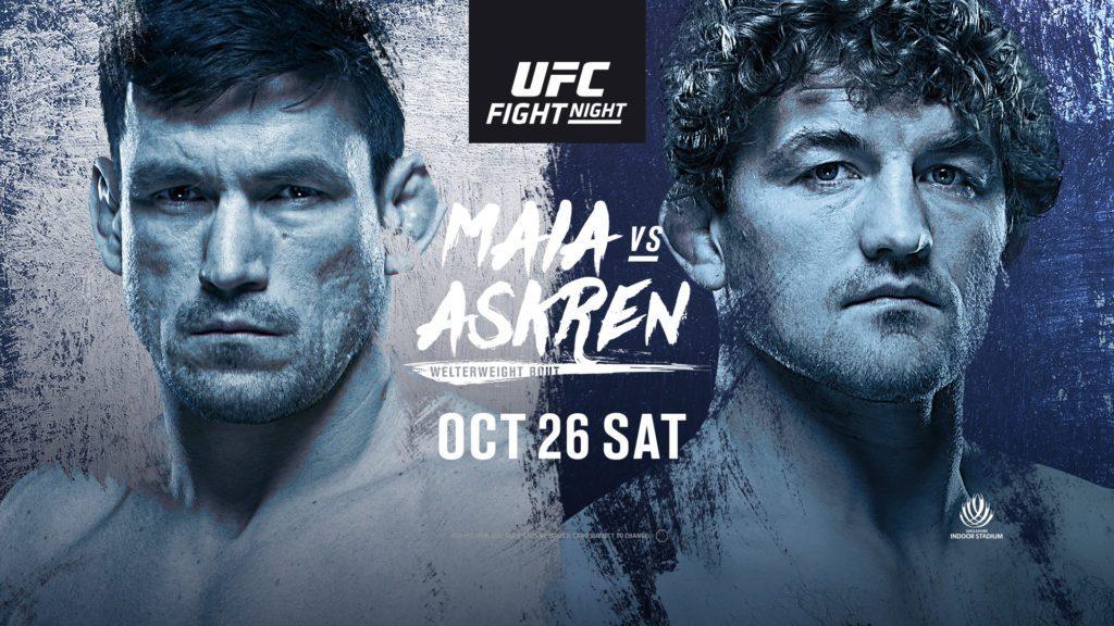 UFC Singapore results - Askren vs. Maian