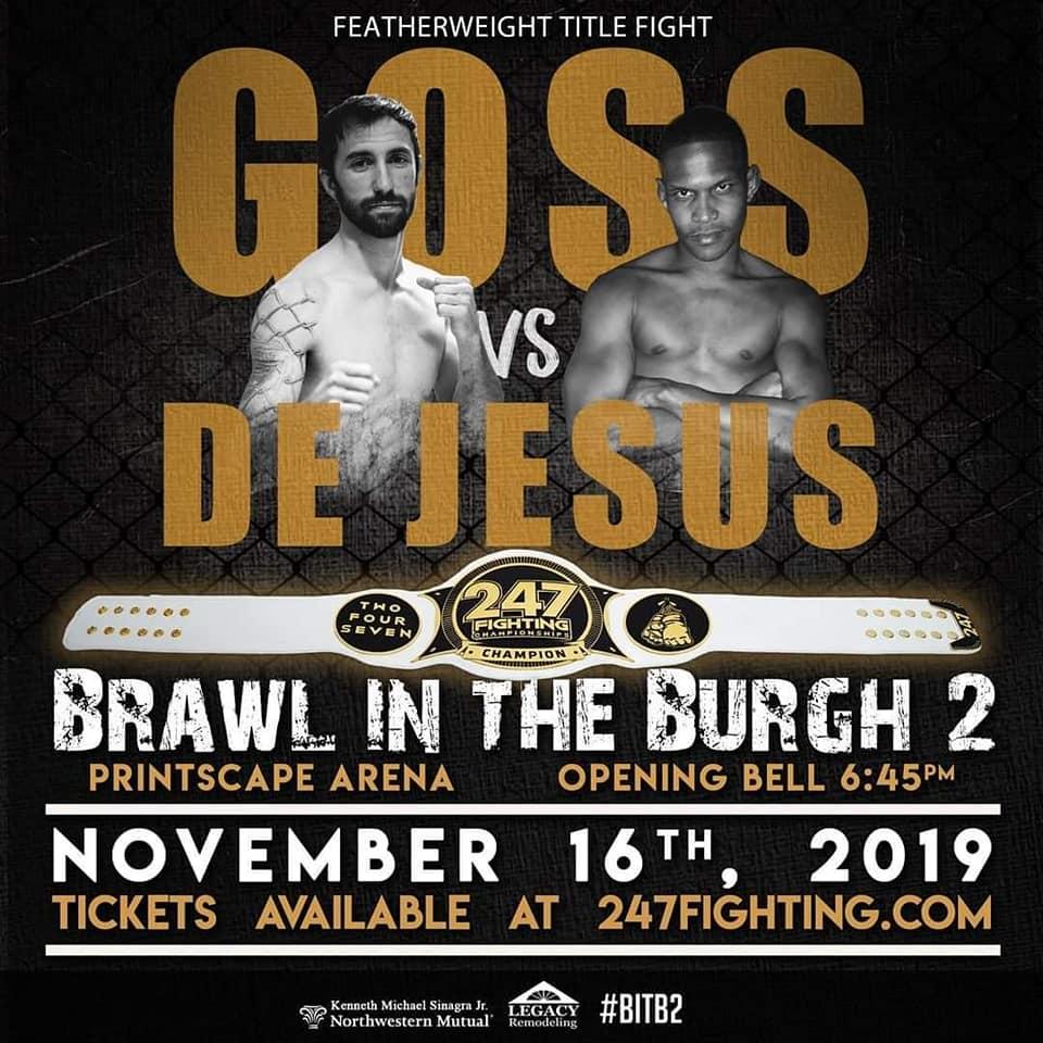 Ethan Goss, John De Jesus, 247 Fighting Championships
