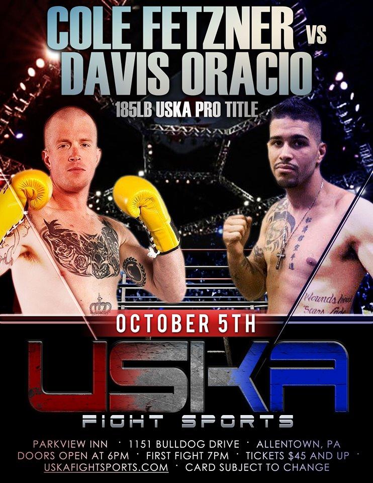 Davis Oracio Jr., USKA, Cole Fetzner