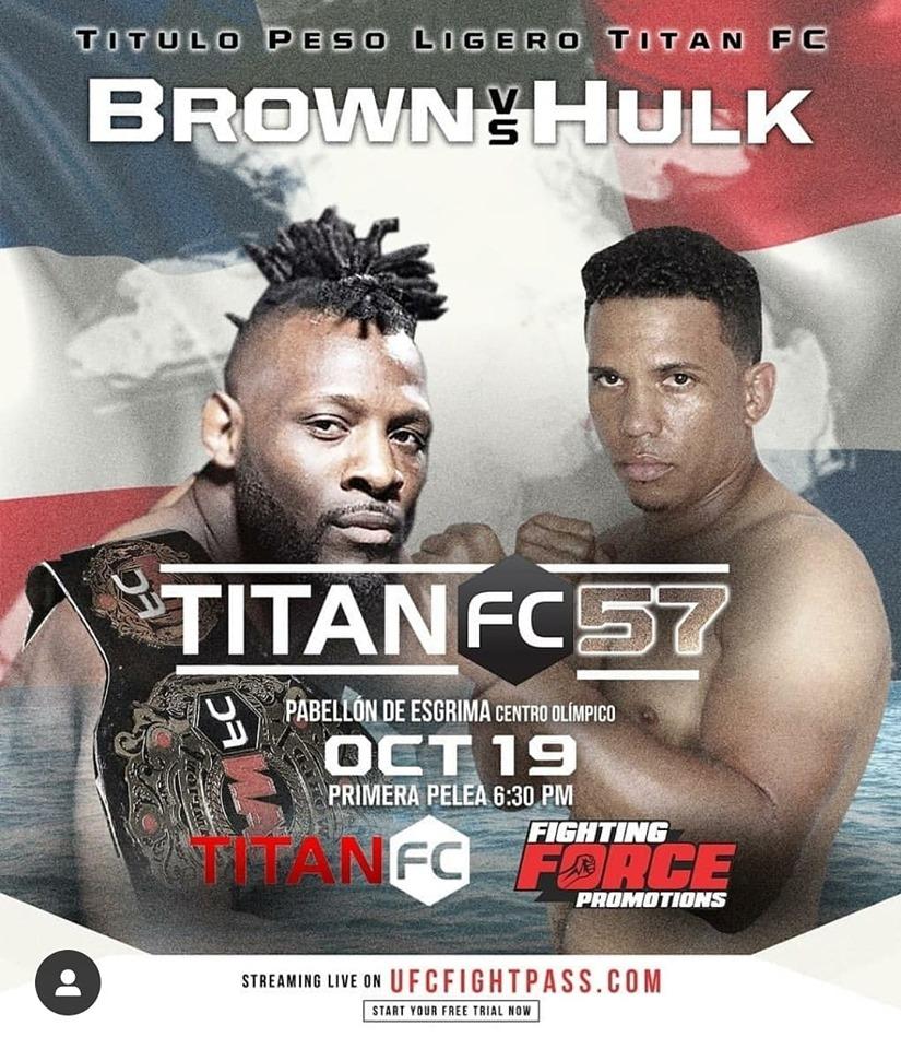 Titan FC 57 results - Brown vs. Paulino
