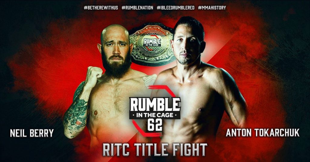 Rumble in the Cage 62 live results - Order and Watch