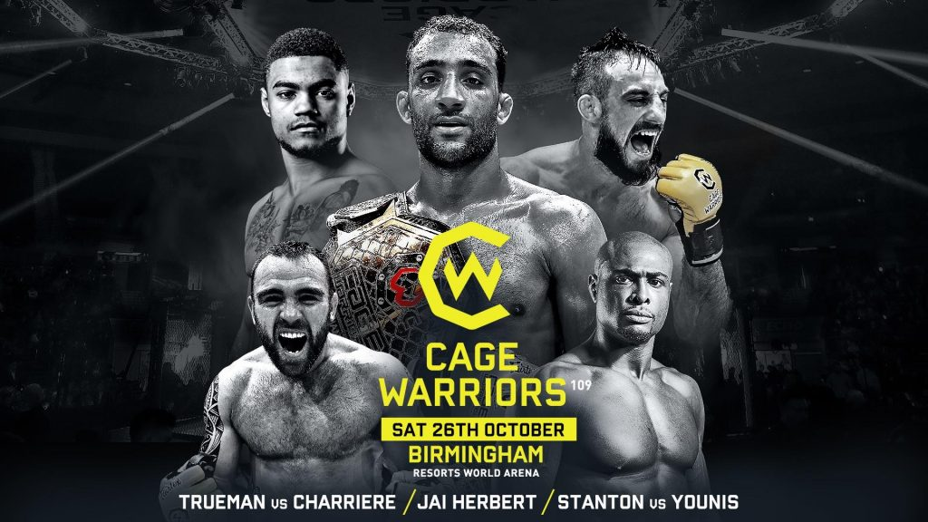 Cage Warriors 109 Broadcast Details Announced