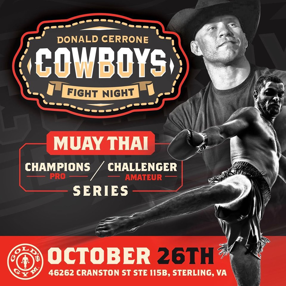 Cowboy Fight Night 1, Muay Thai