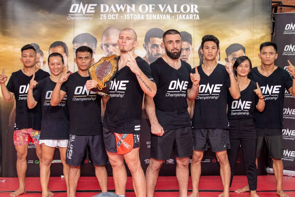 ONE: Dawn of Valor Holds Open Workout With Fighters