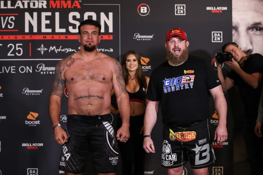 Weigh-In Results For Bellator 231: Mir vs. Nelson 2