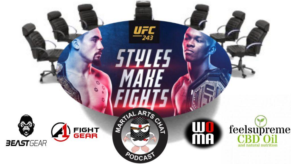 UFC 243 Preview