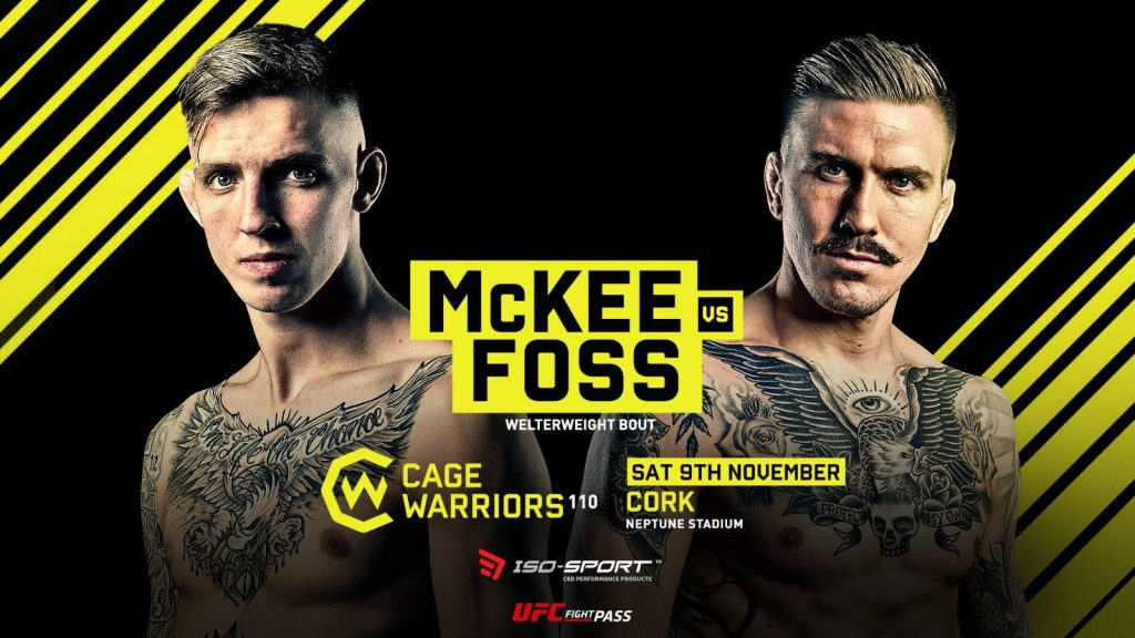 Rhys McKee and Håkon Foss Set For Cage Warriors 110 Main Event