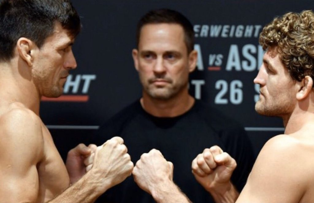 UFC Singapore, Demian Maia, Ben Askren