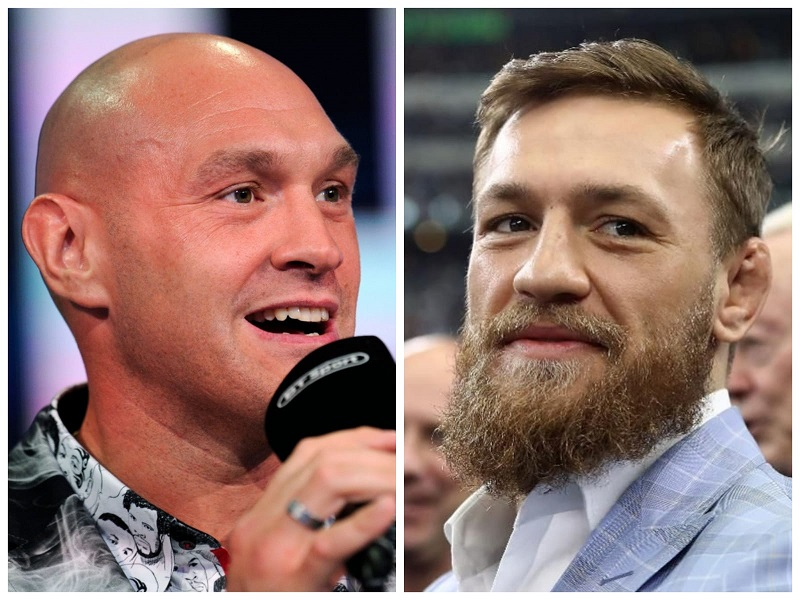 Tyson Fury says he will train with Conor McGregor for MMA debut