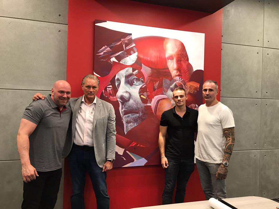 UFC HQ honors Hemmers family with dedicated 'Ramon Dekkers' room