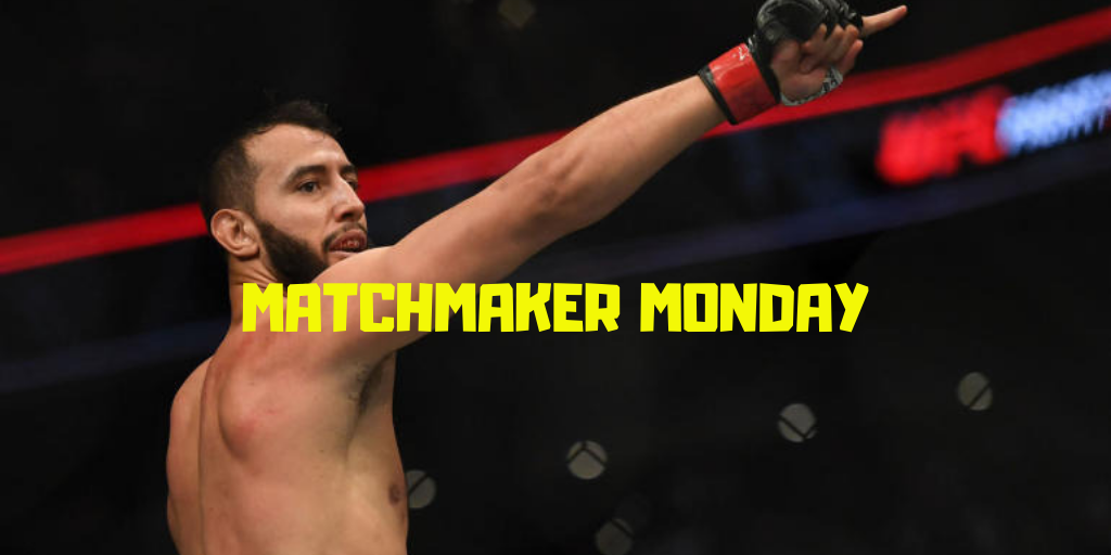 UFC Boston, Matchmaker Monday, Dominick Reyes