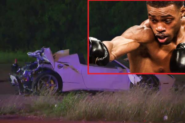 Boxing champ Errol Spence Jr. seriously injured in Ferrari crash