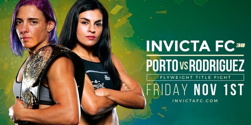 Two title fights headline Invicta FC 38 on November 1