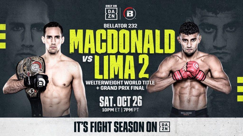 Bellator 232 results - MacDonald vs. Lima 2