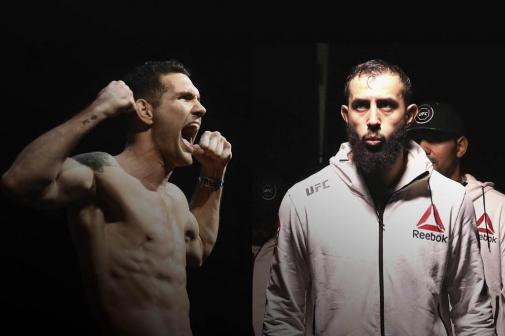 UFC Boston Results - UFC on ESPN 6 - Reyes vs. Weidman